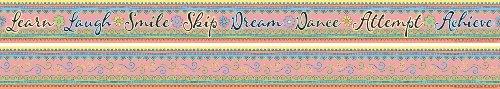 ice Products doppelseitig Bulletin Board Grenze mit Inspirierende Worte, 35'(ll-978) ()