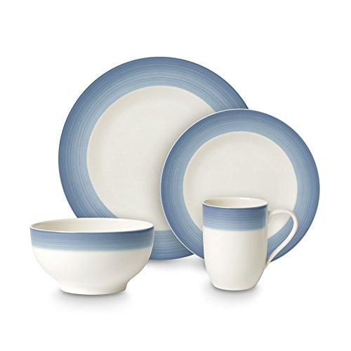 Villeroy & Boch Set pour Petit déjeuner Service-Set Blau (8-teilig)