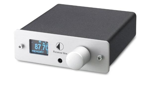 Pro Ject Receiver Box Mit Radio Tuner Schwarz Elektronik