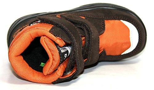 Jela Kinderschuhe 61.124 Jungen Halbstiefele & Stiefeletten Braun (dunkelbraun/orange 27)