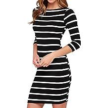 Kleid schwarz weib gestreift