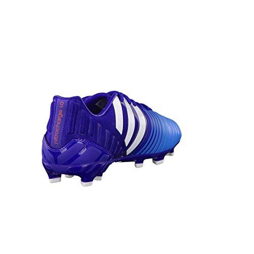 ADIDAS Chaussures Football Nitrocharge 1.0 Terrain Sec FG Enfant 38 Bleu