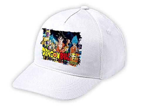 MERCHANDMANIA Gorra NIÑO Dragon Ball Super Logo Anime