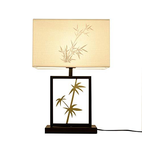 Nueva Lámpara De Mesa China Lámpara De Mesita De Noche Dormitorio ...