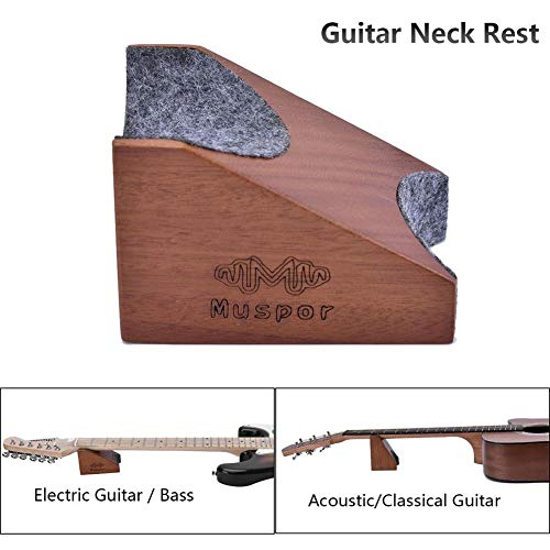 Guitar Neck Rest Support Pillow Electric & Acoustic Guitar & Bass Luthier Strumento di installazione