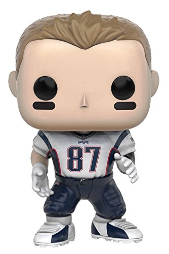 NFL 3 10228 Pop Vinyl Rob Gronkowski Patriots Figure