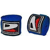 Ripe profesional mano Wraps MMA Inner mano Wraps Vendas boxeo guantes azul