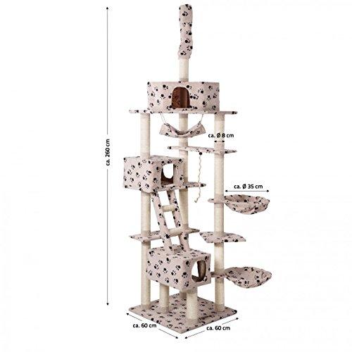 Höhenvertsellbar und im Pfoten Design - 7