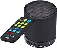 Digital Quran Player Speaker with Remote Control Black Color