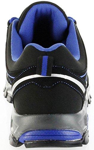 ConWay Outdoor-Trekking Schuhe black blue Softshell CONTEX Damen Herren Lars Blau