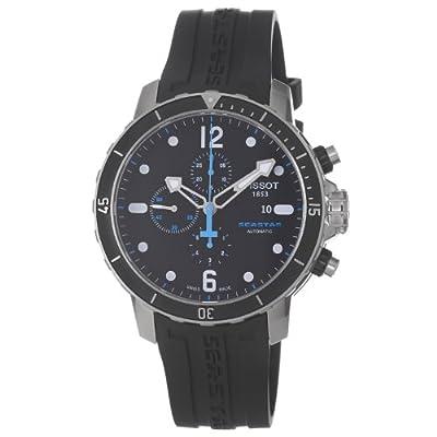 Tissot T0664271705700 - Reloj de pulsera hombre, caucho, color plateado