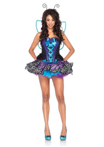 Stirnband Kostüme Antenne (Leg Avenue 85090 - Schmetterlings-Kostüm, Größe S,)