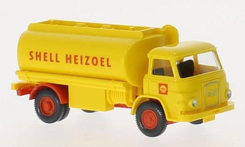 Preisvergleich Produktbild MAN 415 Tankwagen, Shell Heizoel, 0, Modellauto, Fertigmodell, Wiking / PMS 1:87
