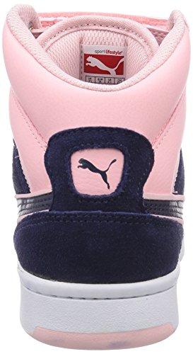 Puma Rebound Street CV Unisex-Erwachsene Sneakers Blau (peacoat-peacoat-crystal rose 04)