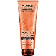 L'Oréal Paris Pure Champú Liss rizado, 250ML Indomable