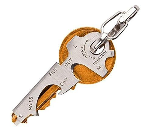 8en 1Multi outil Outil de poche porte-clés accessoire, Key