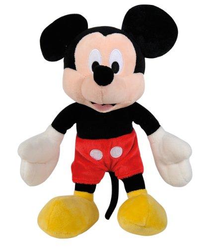 Simba 6315872632 - Disney Plüsch Mickey Maus 25cm (Simba Erwachsene Kostüme)