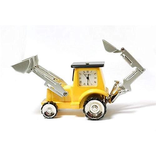 The Emporium Miniature Clocks Miniatur Uhr - JCB Schaufelbagger