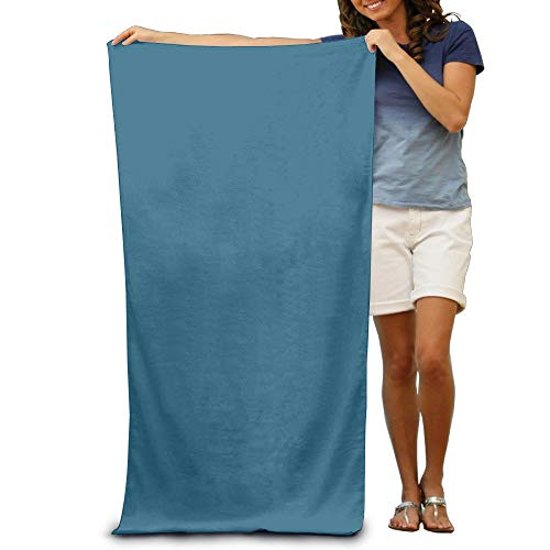 Evening Blue Super Soft Highly Absorbent Eco-Friendly Durable Bath Towels for Maximum Softness Easy Care-Home,spa Resort,Hotels Motels Gym Use 31x51 inch -