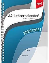 Calendario per insegnanti 2020/2021, formato A4
