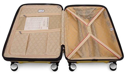 HAUPTSTADTKOFFER - PRNZLBRG - Hartschalenkoffer Trolley Rollkoffer Reisekoffer, TSA, 66 cm, 77 Liter, Gelb - 6