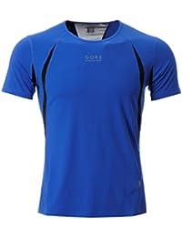 Gore Hommes Air 2.0 T-Shirt Tee Top Haut Sport Gym Running Manches Courtes