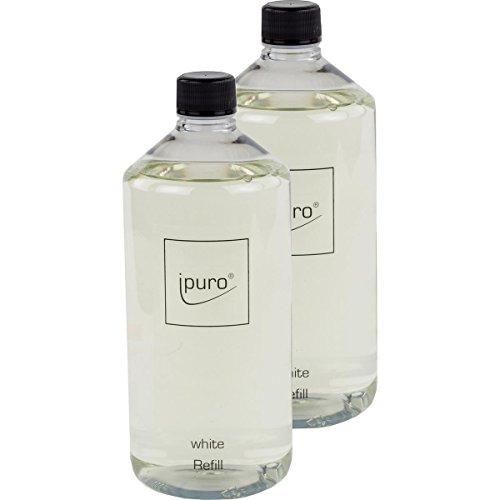 Essentails by Ipuro White Refill 1000mlNachfüllflasche (2er Pack) (E-stab-refill)