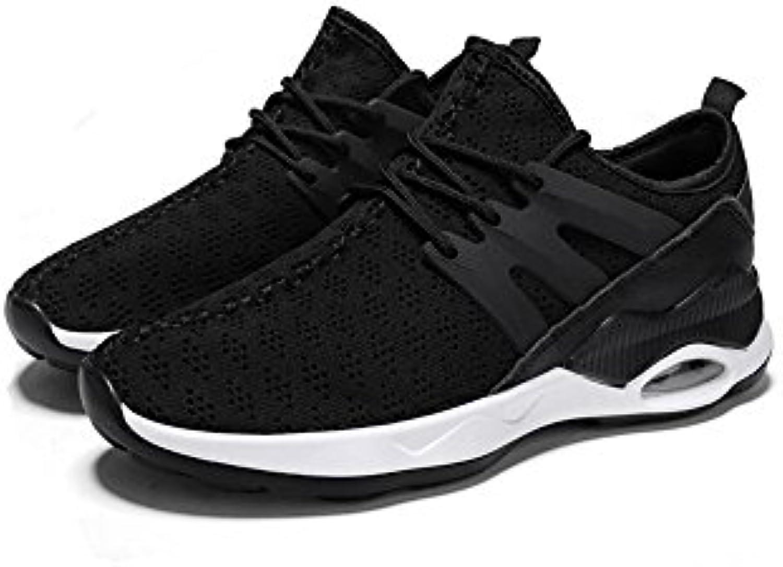 XUEQIN Männer Turnschuhe Turnschuhe Walking Outdoor leichte atmungsaktive Mesh Schuhe (Farbe : 3  größe : EU41