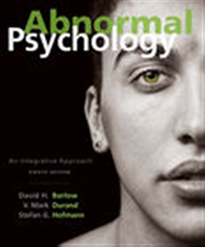 Abnormal Psychology: An Integrative Approach (Mindtap Course List) por David H. Barlow