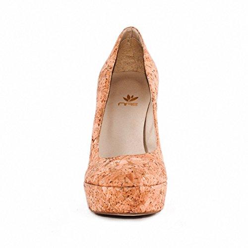 NAE Cork Pump - Damen Vegan Schuhe - 3