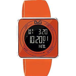 D&G Reloj analogico para Hombre de Cuarzo con Correa en Caucho DW0738