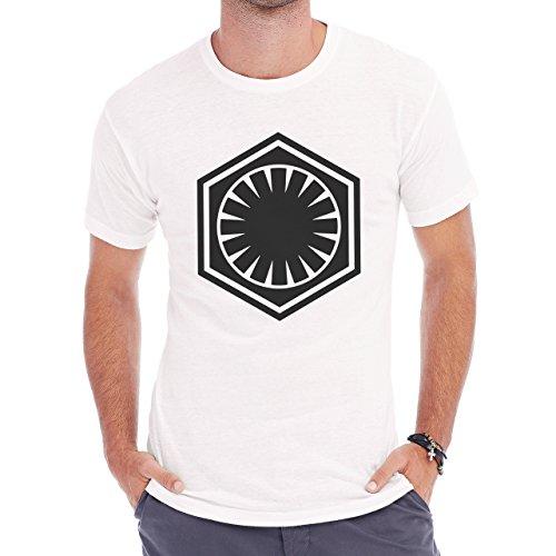 First Jedi Order Star Wars Herren T-Shirt Weiß