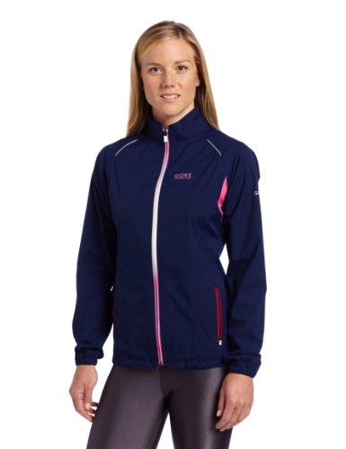 Navy Blue Jacke Hot (Gore Running Wear Damen Jacke Sunlight 2.0 Active Shell, Navy Blue/hot pink, 38, JWGSUN634408)