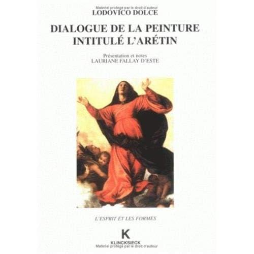 Dialogue sur la peinture intitulé l'Arétin