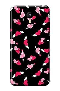 YU Yunicorn Mobile Cover, Premium Quality Designer Printed 3D Lightweight Slim Matte Finish Hard Case Back Cover for YU Yunicorn + Free Earphone Cable Organizer