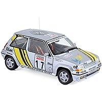 Coche Renault Super 5 GT Turbo. Tour de Corse 1989