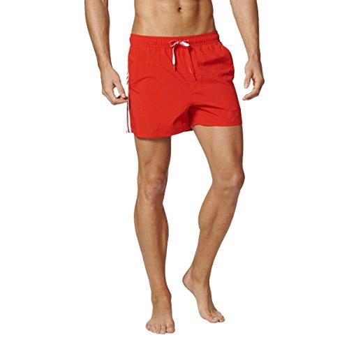adidas 3sa Short Vsl Maillot Bain Homme Rouge