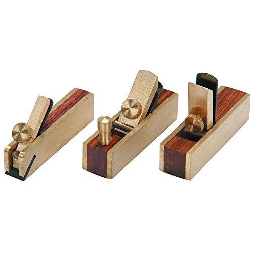 Tools Centre3pc Micro Brass Block Plane, Bullnose & Scraper For Wood Working Craft Planar Tool -