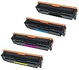 Prestige Cartridge CE410X CE411A CE412A CE413A 4-er Set Toner kompatibel für HP Colour LaserJet Pro 300 M351A, Pro 300 MFP M375NW, Pro 400 M451DN, Pro 400 M451DW, Pro 400 M451NW, Pro 400 MFP M475DN, Pro 400 MFP M475DW