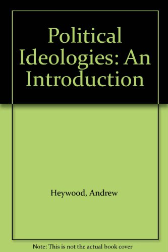 Political Ideologies: An Introduction