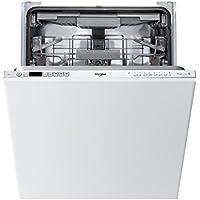 Whirlpool Supreme Clean WIC 3C23 PEF UK Built-In Dishwasher - Silver