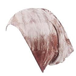 Winkey 2018 Head Scarf for Women, Women's Stretch Retro Print Turban Hat Head Scarf Wrap Cap