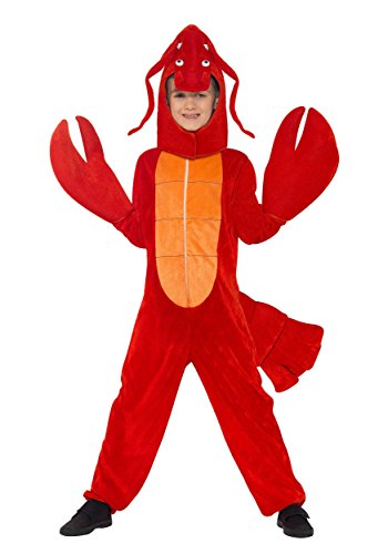 smiffys-boys-childs-red-lobster-fancy-dress-costume-medium