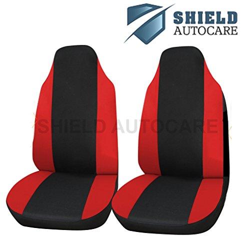 Deluxe Rot Racing Vordersitzbezüge für Honda Civic Type-R alle Jahre (Racing Honda Civic)