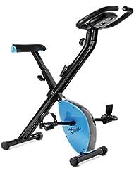 Fitfiu Best-X1000 Bicicleta Estática Plegable, Unisex Adulto, Azul, Talla Única