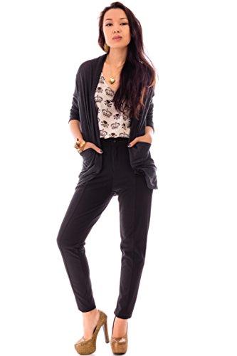 Ça Va Bien Fashion - Gilet - Femme Noir