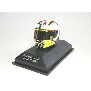 Minichamps DP 1/8 AGV helmet V. Rossi (Moto GP2006) (japan import)