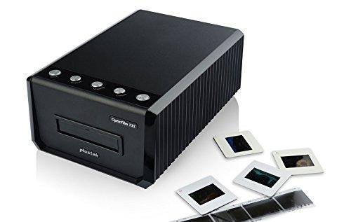 Plustek OpticFilm 135 35mm Dia/Negativ Filmscanner (3600 dpi optisch, USB) Batch Scan