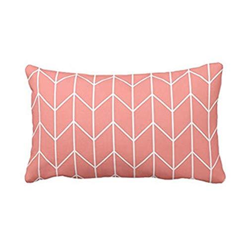 KItipeng Housses de Coussin,Taies d'oreiller,Canapé Taie Coussin Decoration Canapé Rectangle Chic Home Decor Cushion Cover Throw Pillow Case avec Motif Géométrique Imprimé,50 X 70cm