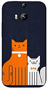 Timpax Light Weight Hard Back Case Cover Printed Design : Define friendship.100% Compatible with HTC-M8 ( M-Eight)